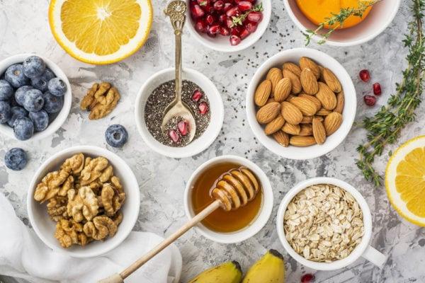 Kostvejledning - billede af sund mad